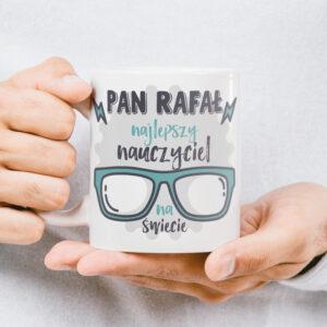 personalizowany kubek dla nauczyciela z dedykacją mug for teacher