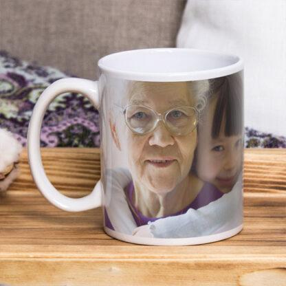 kubek ze zdjęciem i dedykacją personalizowany prezent