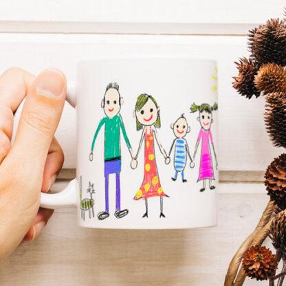 kubek z rysunkiem dziecka personalizowany prezent